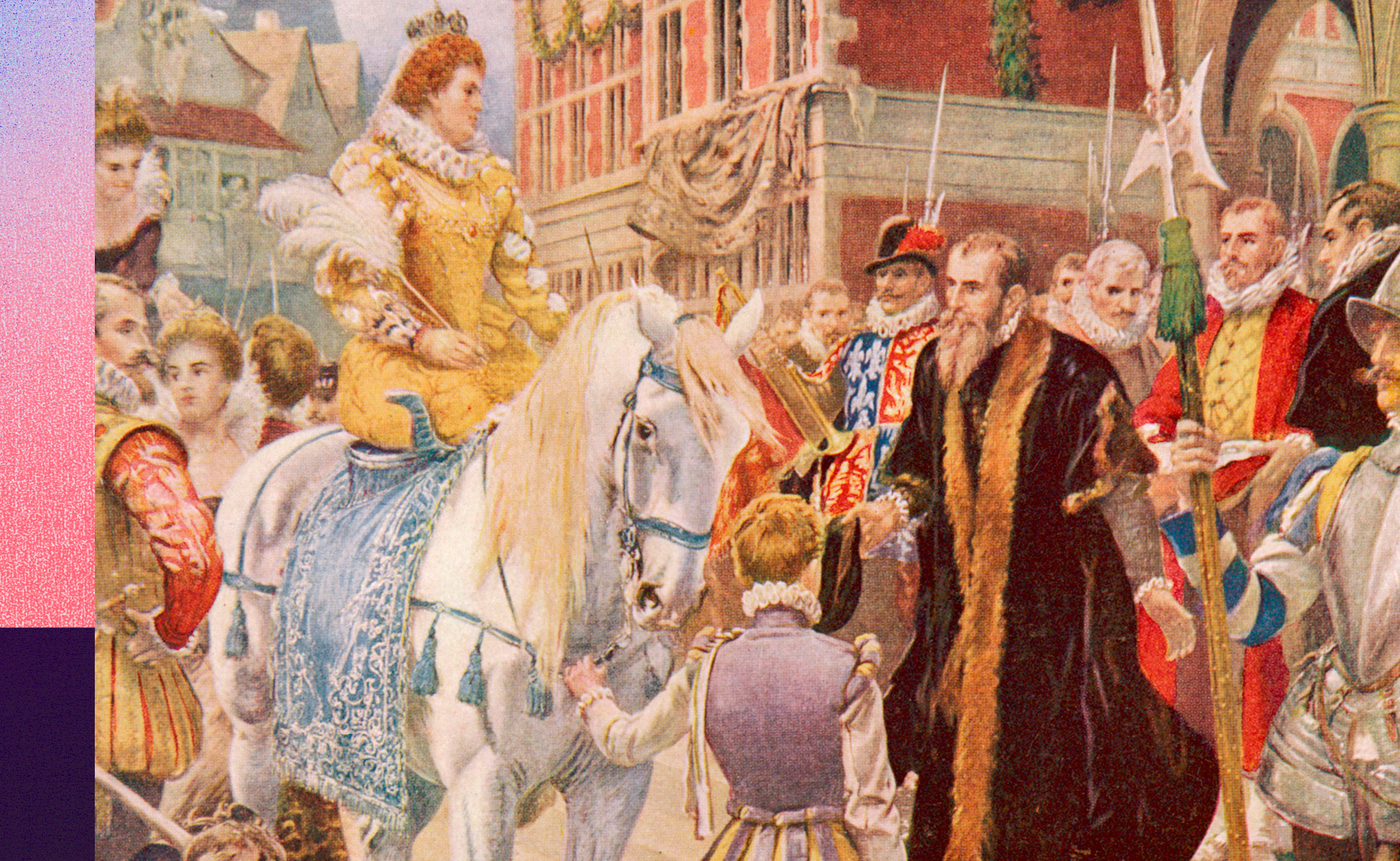 Queen Elizabeth I officially opened The Royal Exchange in 1571