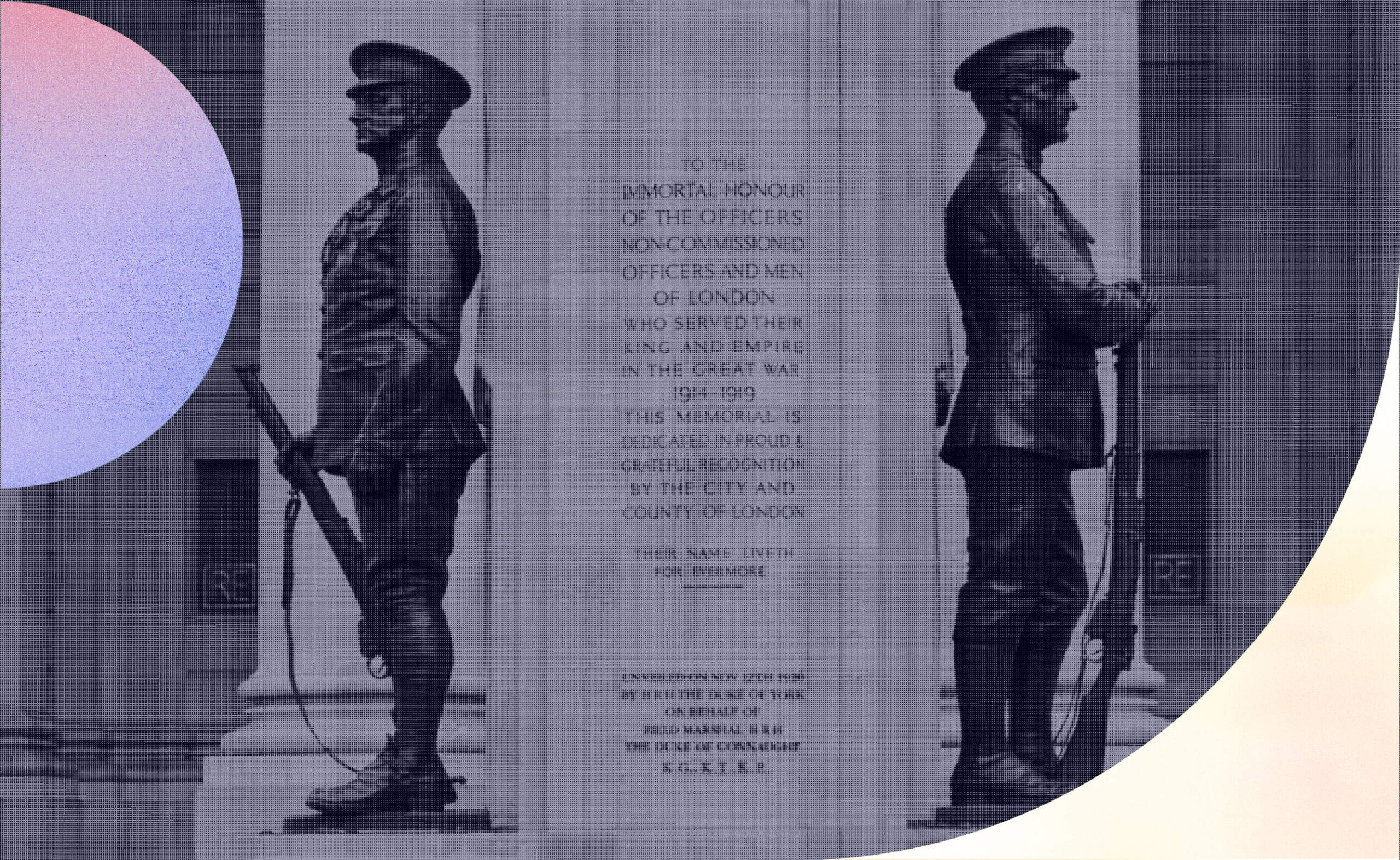 The Troops Memorial at The Royal Exchange, London
