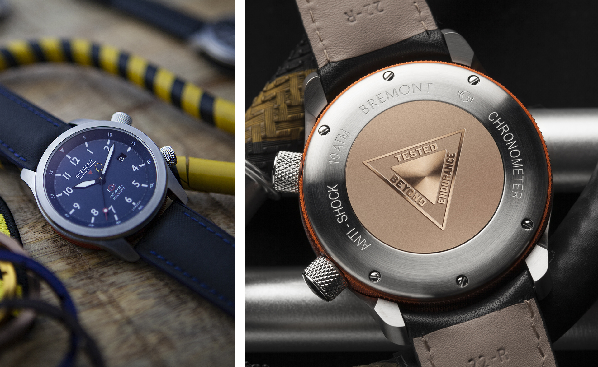 The Bremont MBII watch